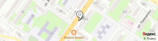 Окна Гармония на карте Твери