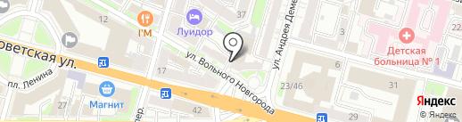 Бизнес-тренер Соколова Анастасия на карте Твери