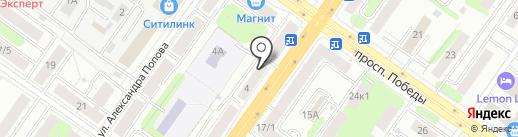 Кресла-маркет на карте Твери