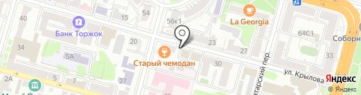 Максима-недвижимость на карте Твери