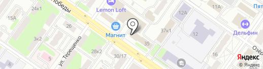 Спецмелиоводхоз на карте Твери