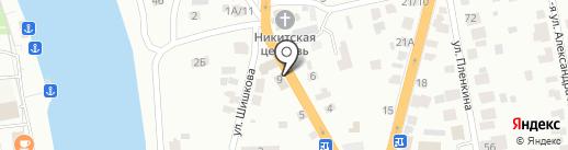 Алекса на карте Твери