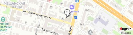 Ажур на карте Твери