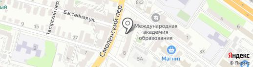 BODY FITNESS на карте Твери