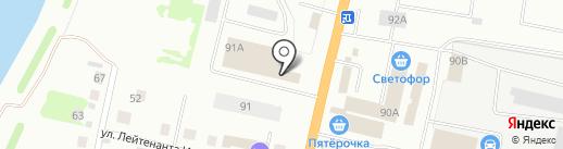 Ситипоинт-Тверь на карте Твери