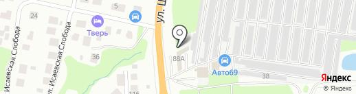 Автосервис на Шишкова на карте Твери