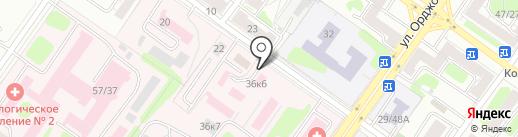 Клиническая больница №6 на карте Твери