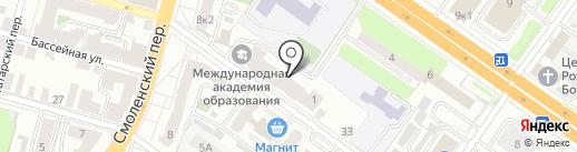 РусПроектСтрой на карте Твери