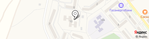 Гостиница на карте Товарково