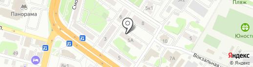 Раздаточный пункт молочной кухни на карте Твери