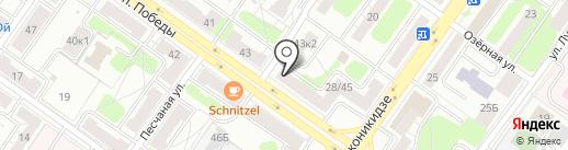 Банкомат, БИНБАНК кредитные карты, филиал в г. Твери на карте Твери