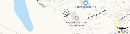 Культурно-досуговый центр пос. Товарково на карте Товарково