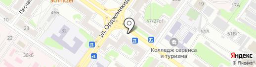 Ателье-мастерская по ремонту одежды на карте Твери