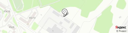 Tver-Chip на карте Твери