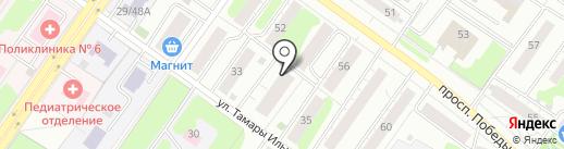 VOG на карте Твери