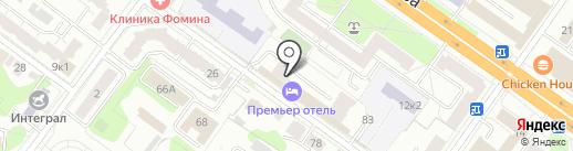 Ромашка на карте Твери