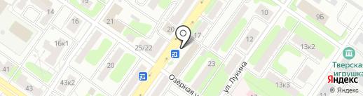 Ателье на Орджоникидзе на карте Твери