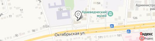Пожарная часть №36 Октябрьского района на карте Прямицыно