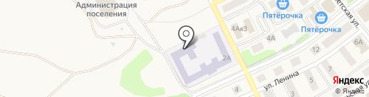 Товарковская средняя общеобразовательная школа №1 на карте Товарково