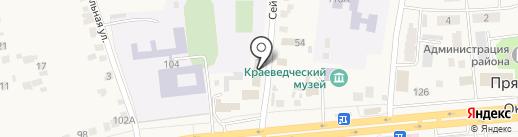 Октябрьский районный суд на карте Прямицыно