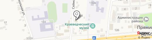 Прокуратура Октябрьского района на карте Прямицыно