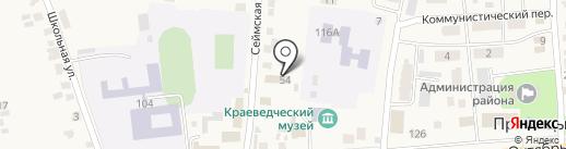 Отдел вневедомственной охраны по Октябрьскому району на карте Прямицыно