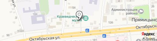 Банкомат, Центрально-Черноземный банк Сбербанка России на карте Прямицыно