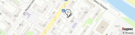 Строй Д-Макс на карте Твери