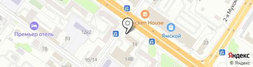 АльфаСтрахование-ОМС на карте Твери