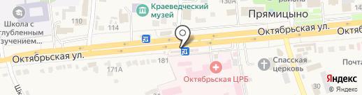 Магазин крепежа на карте Прямицыно