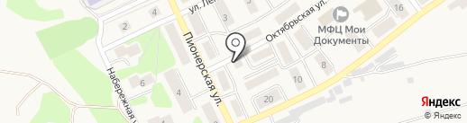 Продовольственный магазин на карте Товарково