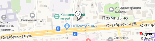 Пятёрочка на карте Прямицыно