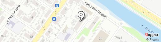 Косметический кабинет на карте Твери
