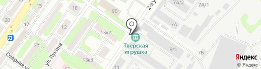 ПромИндустрия на карте Твери