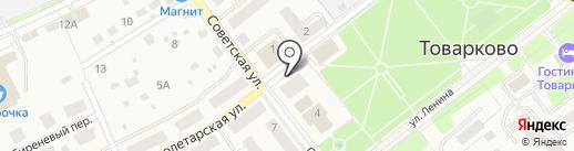 ДвериОкна на карте Товарково