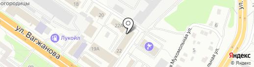 ТверьБетонРесурс на карте Твери