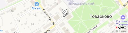 Магазин-пекарня на карте Товарково