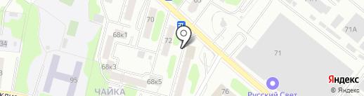 Тверской комплексный центр социального обслуживания населения, ГБУ на карте Твери