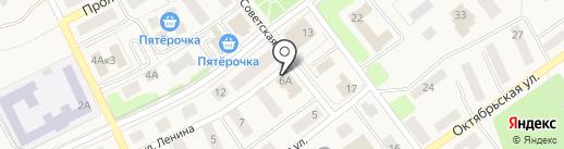 Радуга на карте Товарково