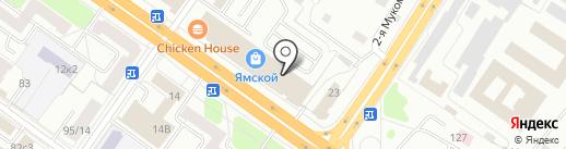 Тележка на карте Твери