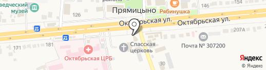 Церковная лавка на карте Прямицыно