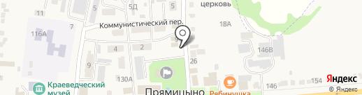 Курская Фармация на карте Прямицыно