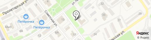 Товарковская школа искусств на карте Товарково