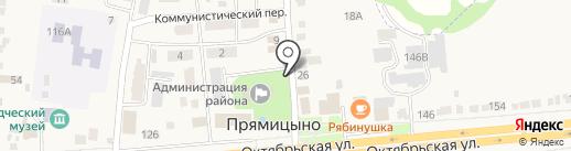 Территориальный орган Федеральной службы государственной статистики по Октябрьскому району на карте Прямицыно
