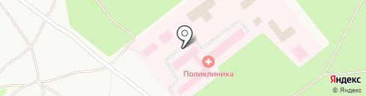 Районная больница на карте Товарково