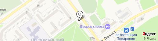 Товарково на карте Товарково