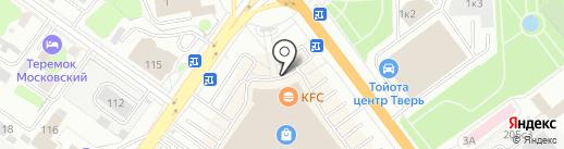 Pandora на карте Твери