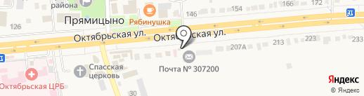 Автозапчасти №1 на карте Прямицыно