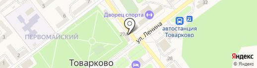 Qiwi на карте Товарково