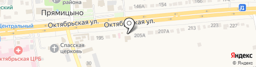 Почта Банк, ПАО на карте Прямицыно